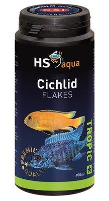 HS AQUA CICHLID FLAKES 400 ML