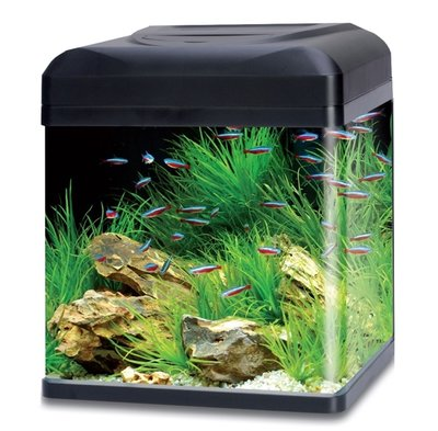 HS AQUA AQUARIUM LAGO 50 LED ZWART