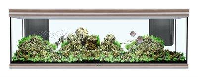 AQUATLANTIS AQUARIUM FUSION 200 - 200X60X70 INCL. 2X86 W LED