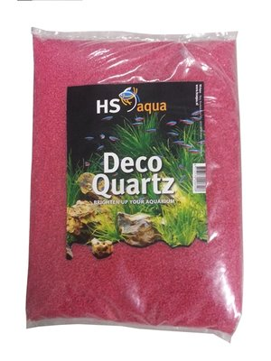 HS AQUA DECO QUARTZ 1-2 MM NEON ROZE 4 KG