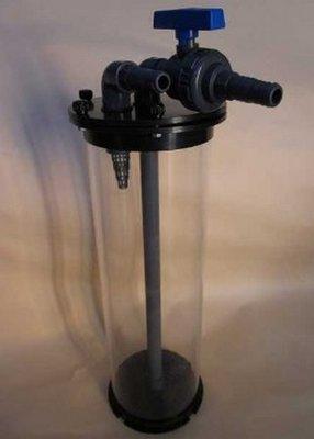 Waterdichte wervelbed filter à 130 mm - 58 cm hoog