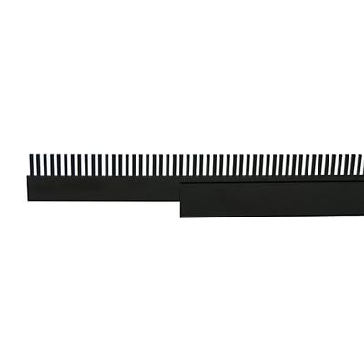 Overloopkam met houder 33cm - kamhoogte 4-6cm