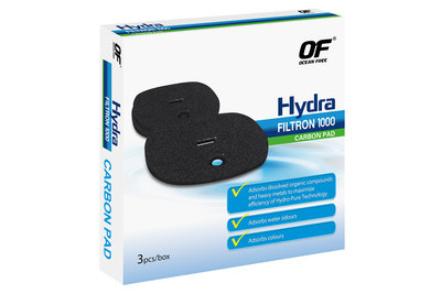OF CARBON WOOL (3PCS) FOR HYDRA  FILTRON 1000